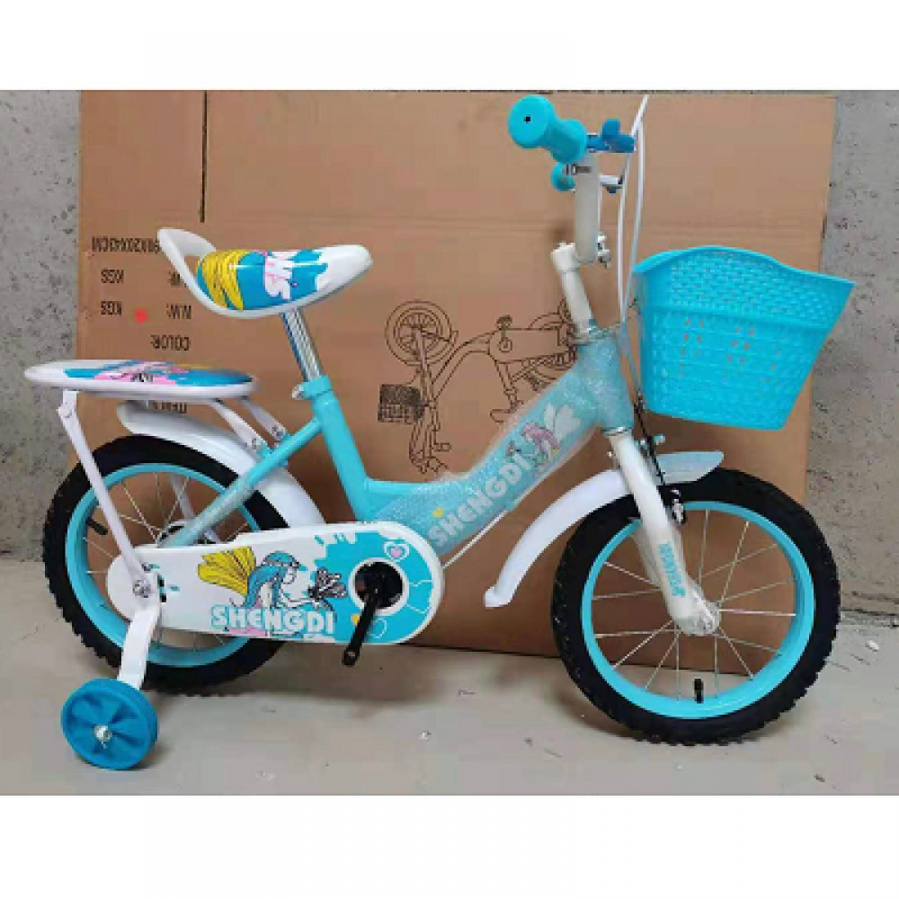 14 inch kids bicycle mixed colour