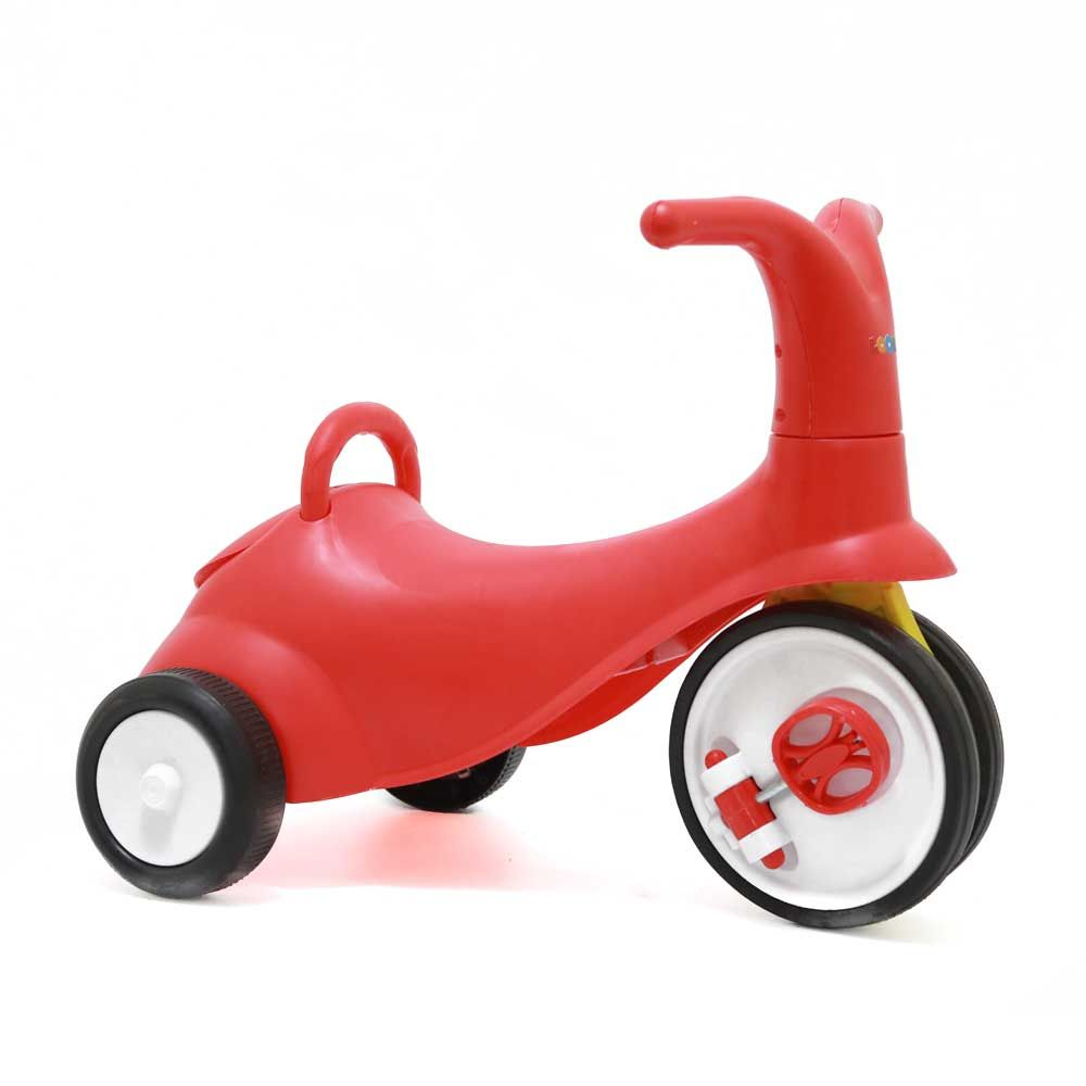 Loonu Baby 2 In 1 Tricycle Cum Rider-Red