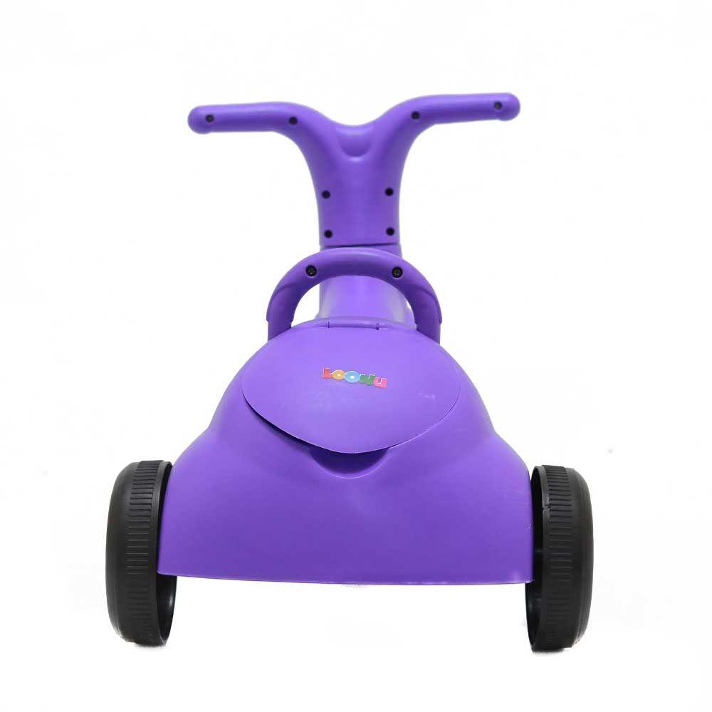 Loonu Baby 2 In 1 Tricycle Cum Rider-Purple