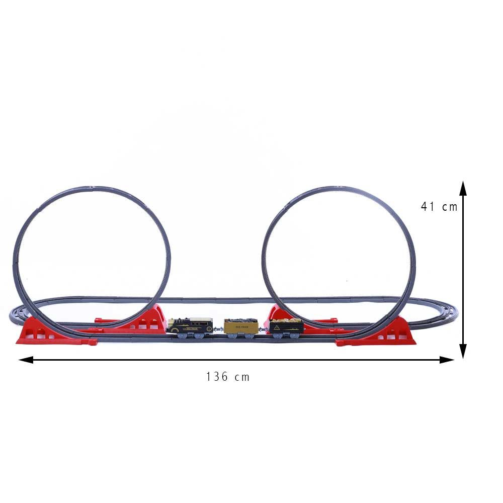 Toy Battery Operated Train Set 4119