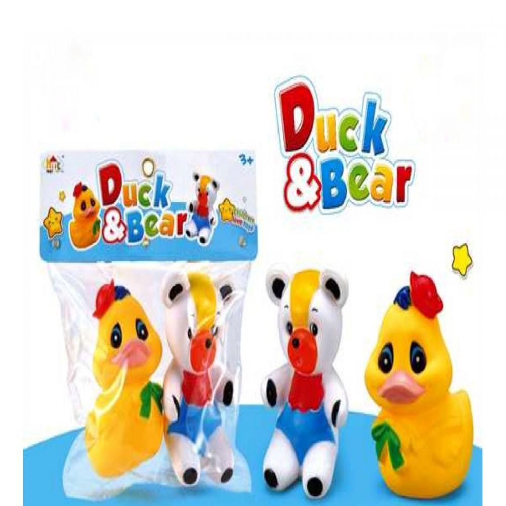 B21 Chu Chu 2 Pieces Duck & Bear HMC1030