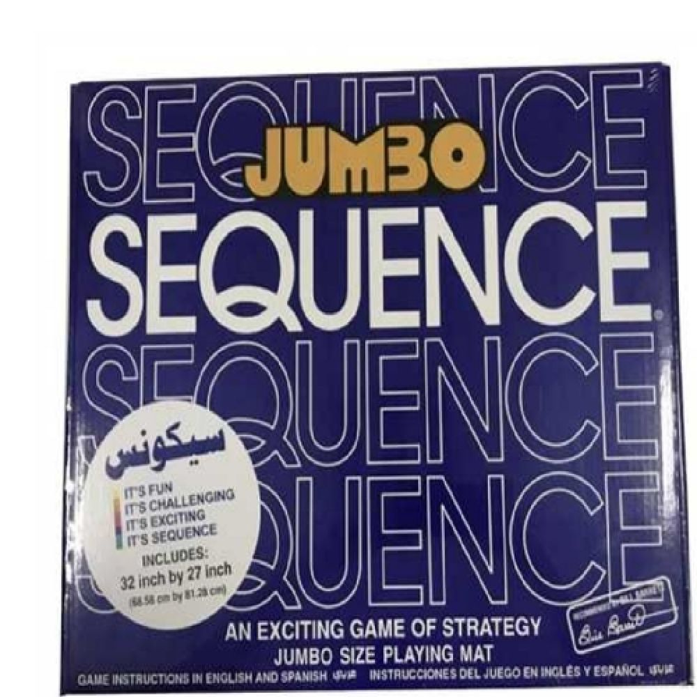 B21  Board Game Sequence-Jumbo Size 55209