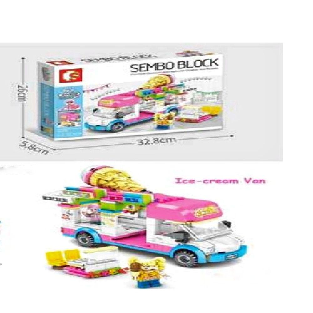 B21Block Playset Ice Cream VAN Or Ambulance 601302