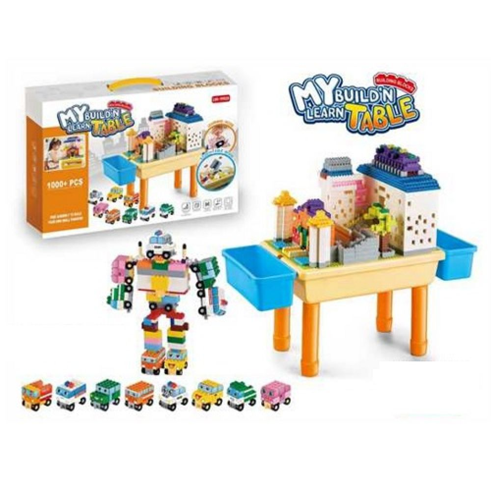 build and learn table play set