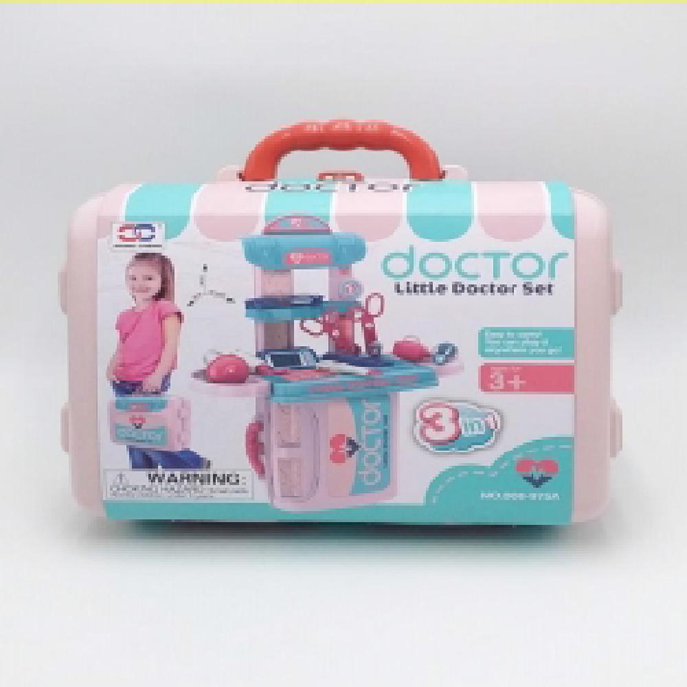 kids 3 in 1 little doctor play set
