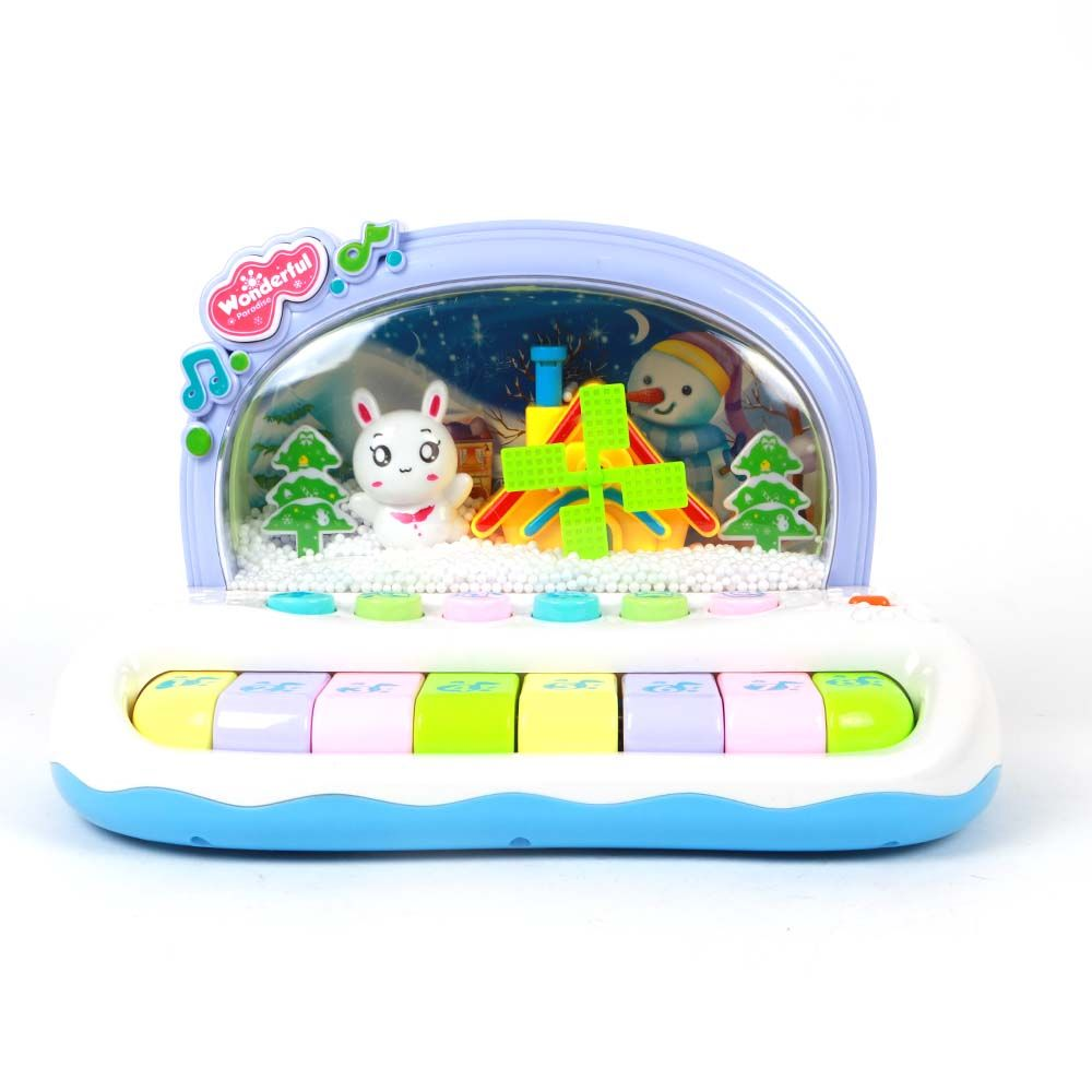 Toy Baby Piano Snow