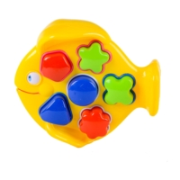 Fish Shape Sorter Play Bench