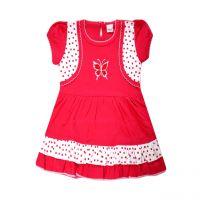 Happy Kid Lino Half Sleeve Top - L (6-12 Months) -5 Colour Set