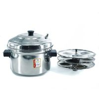 A3 Life Style Idly Pot Cooker With 4 Plates