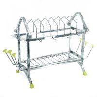 A3 Avani Plate Rack Apple Multiutility modular kitchen stand Sweet Home 5 In 1