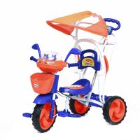 Ez Baby Tricycle With Canopy 8025R-Blue