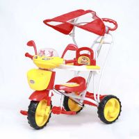 Ez Baby Tricycle With Canopy 8025R-Red