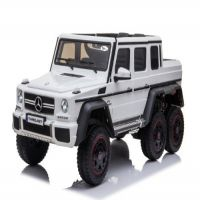 Baby Rechargeable Jeep Licensed Benz - White - THROJ017