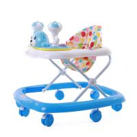 EZ Baby Stroll Musical Walker 5711-Skyblue+White