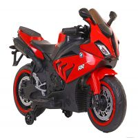 Baby Rechargeable Bike - BMW S1000RR Superbike with Rechargeable Battery Operated Ride-On for Kids S1000RR - Red