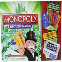 Monopoly Electronic Banking with e-Banking Unit Board Game Set Strategy