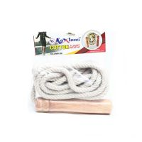 S1 Skipping Rope. Cotton Rope With Wood Handle