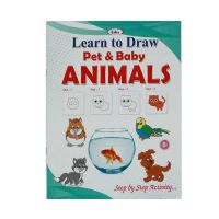 Learn To Draw Pet & Baby Animals-8, 119-8