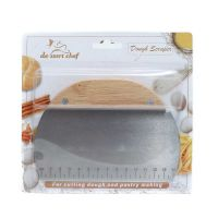 A1 Cake Scrapper Wood BT 1191