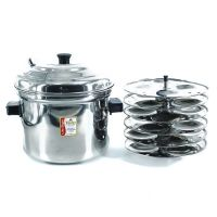 A3 Life Style Idly Pot Cooker With 6 Plates
