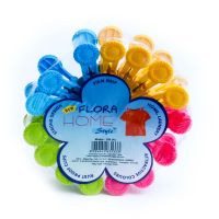 A1 Cloth Clips Flora 15PCS P