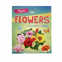 Multi Colouring -Flowers-118-4