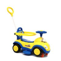 Baby Twister Magic Car with Parental Push Handle JLT 168-Yellow Blue