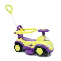 Baby Twister Magic Car with Parental Push Handle JLT 168-Green Purple