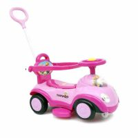 Baby Twister Magic Car with Parental Push Handle JLT 168 Pink