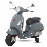 Baby Rechargeable Bike / Vespa Battery Operated Ride-on Scooter for Kids CB320P - Grey