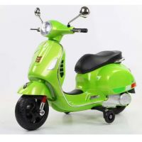 Baby Rechargeable Bike / Vespa Battery Operated Ride-on Scooter for Kids CB320P - Green