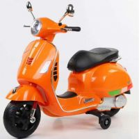 Baby Rechargeable Bike / Vespa Battery Operated Ride-on Scooter for Kids CB320P - Orange