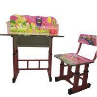 Nursery Kids Study Table- Pink 6