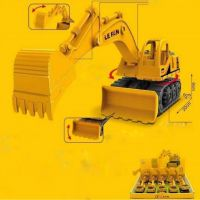 B21 Friction Powered 2 in 1 Earth Mover  Jcb 168-50