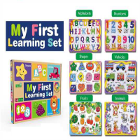 B21 My first Learning Set Wooden 6in1 Complete Set Wt-188