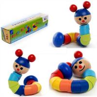 twist doll wooden