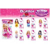 pretty princess doll & doctor set