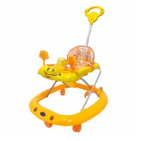 Baby Stopper Walker with Music -Orange