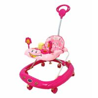Baby Stopper Walker with Music -Pink