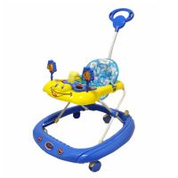 Baby Stopper Walker with Music -Blue