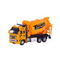 Toy Diecast Metal Friction Mixer Truck