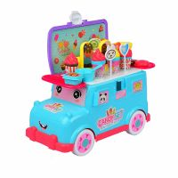 Toy Dessert Portable Mini Bus