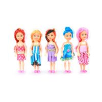 Toy Fashion Girls Five Pieces Doll