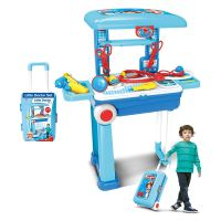 Toy 2 in 1 Doctor Set Trolly 008-925A