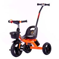 Allwyn Baby Tricycle Jumbo Plus-Orange/Yellow