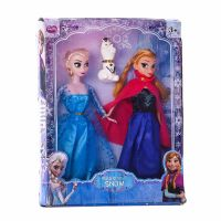 Toy Frozen Doll Set.