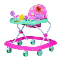 Ez Baby Walker 5212-Green+pink