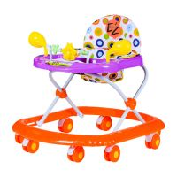 Ez Baby Walker 5212-Purple+orange