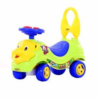 Baby Lion Manual Musical Ride On-Green