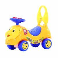 Baby Lion Manual Musical Ride On-Orange
